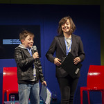 Year of Young People young programmers introducing one of their 'Codename F' events | © Robin Mair