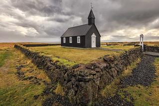 Buðir Church, Snaefellsnes Peninsula, West Iceland