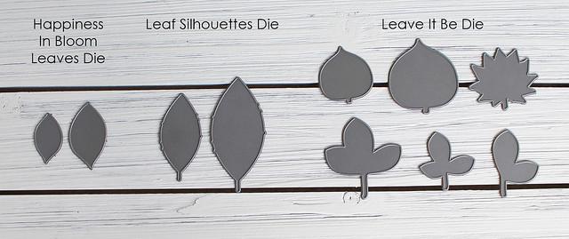 Felt Wreath Suggested Leaf Dies