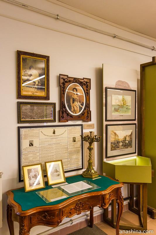 Экспозиция краеведческого музея, Крепость Корела в Приозерске
