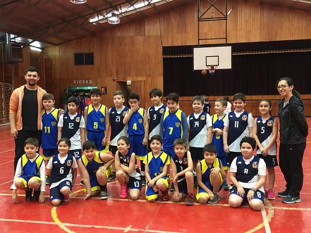 Campeonato Basquetbol Col. Natales