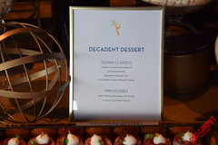 Dessert Menu at the 70th Emmys Governors Ball Press Preview - DSC_0004
