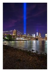September 11 9/11 Memorial Lights