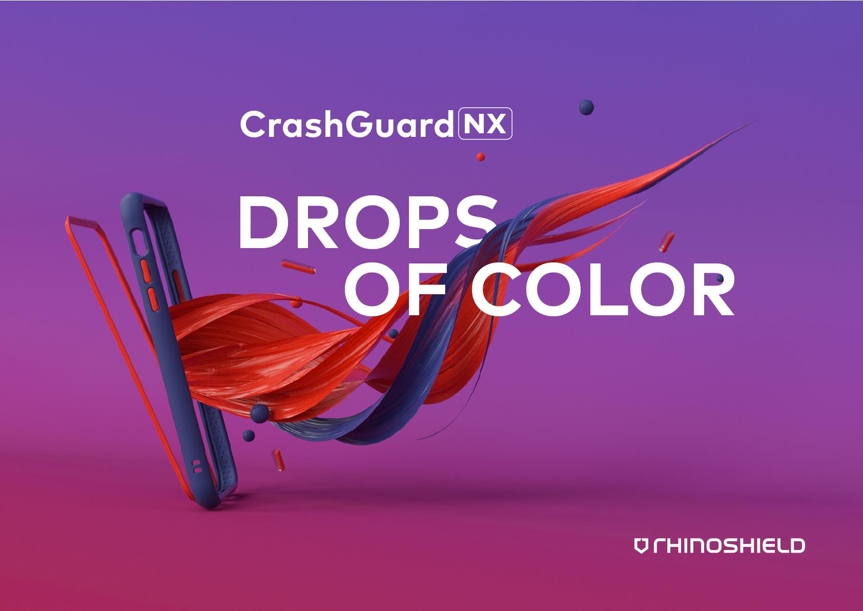CrashGuard NX Modular Drop Frame - Red / For iPhone Series