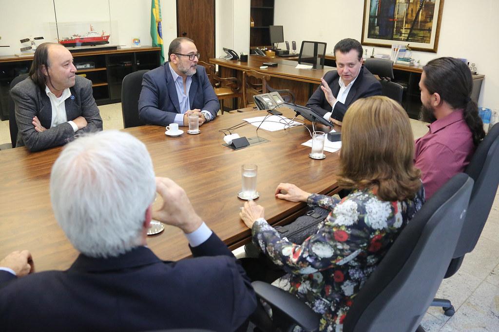 Reunião com a diretoria do Instituto Mamirauá. Brasília-DF. 18/09/2018. Fotos: Bruno Peres/MCTIC.