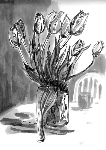 Sketchbook #114: Tulips