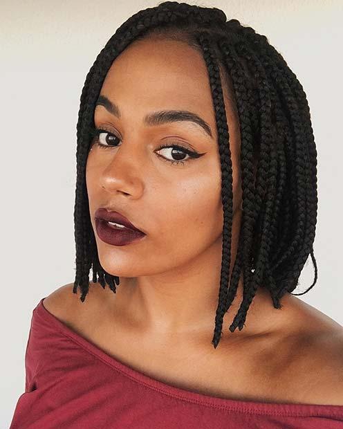 Stunning Medium Box Braids Try in 2019 You Will love it 1