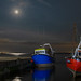 Boats by Moonlight