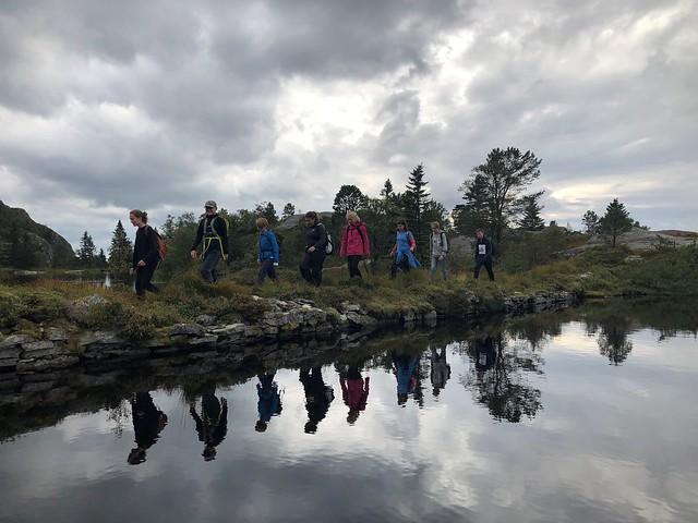 Første tur med Natur, miljø og friluftsliv 2018
