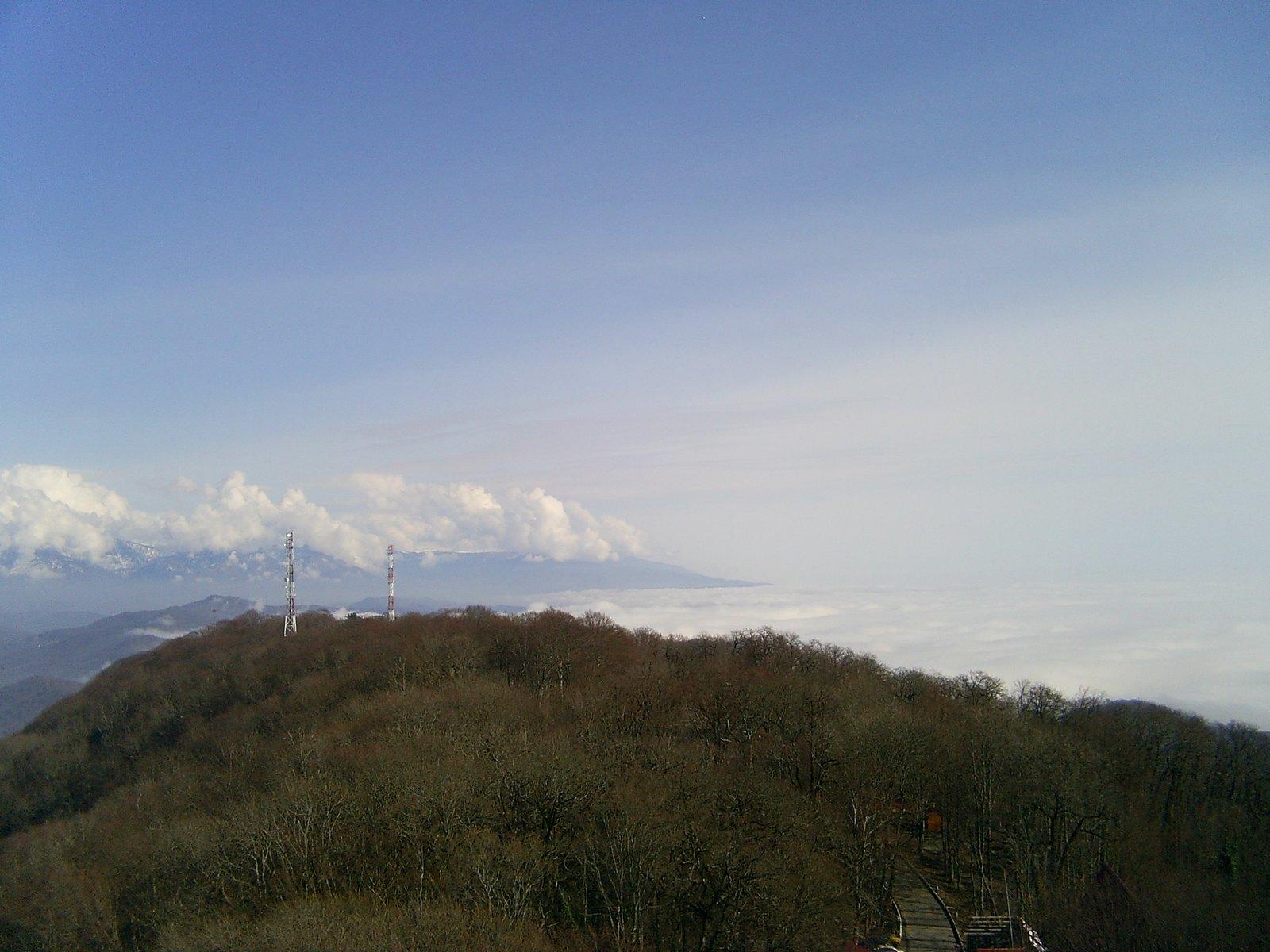 Гора Ахун краснодарский край