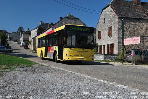 Autobus Toussaint 564118 - Ligne 422