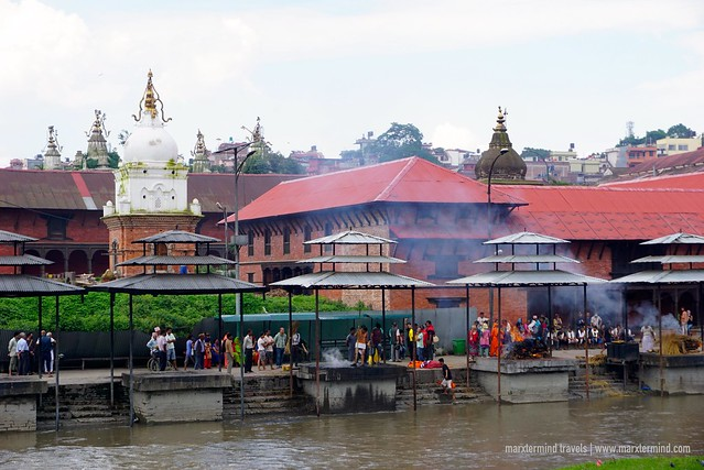 Open-Cremation Ceremony at Pashupatinath Temple