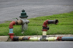 Temporary water supply and Hydrant
