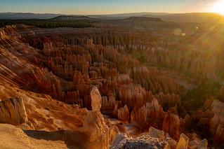 Summer sunrise at Bryce Canyon National Park