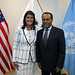 August 22, 2018 - 10:11am - Ambassador Haley meets with Ethiopia's Permanent Representative to the United Nations, Ambassador Tekeda Alemu, August 22, 2018