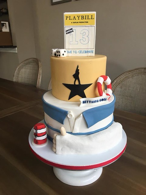 Theater Themed Cake by Karen's Buttery