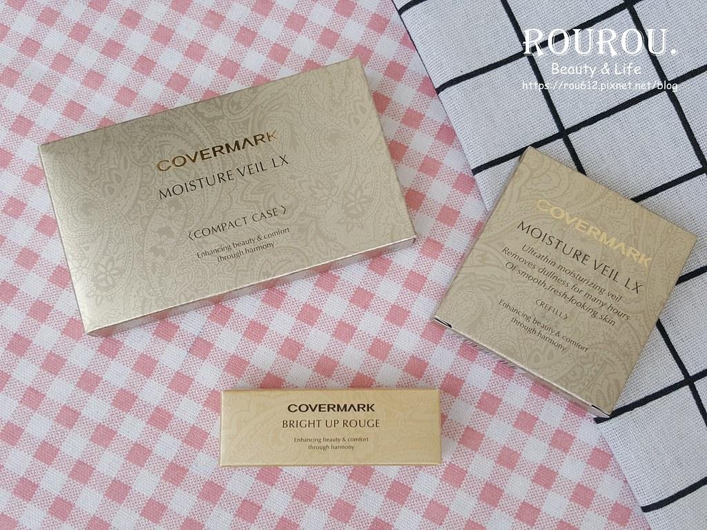 COVERMARK柔紗潤澤粉底+緋色光燦唇膏1