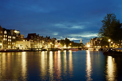 Amsterdam, a view from Amstel