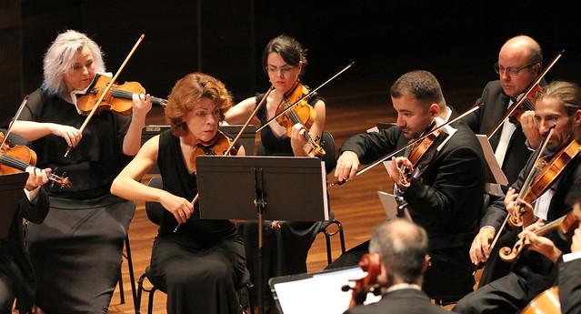 31 FESTIVAL DE MÚSICA ESPAÑOLA DE LEÓN - ORQUESTA DE CÁMARA IBÉRICA - TATIANA FRANCO, FLAUTA & DAVID MATA, DIRECTOR - AUDITORIO CIUDAD DE LEÓN 10.9.18