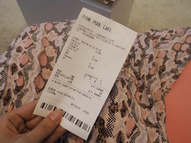 P6168297 STYLENANDA(スタイルナンダ) pink pool cafe(ピンクプールカフェ) 핑크풀카페 弘大 ソウルカフェ ひめごと