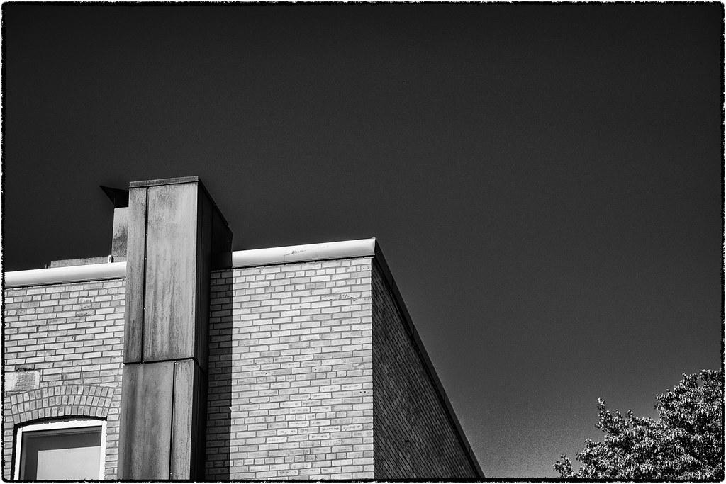 Rust, Brick and Blue Sky