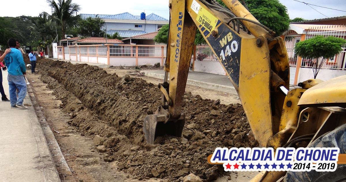 Suspendido servicio de agua potable en Chone