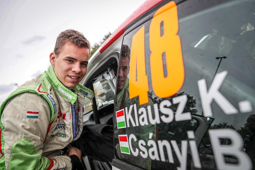 Klausz Kristof, HUN, Klaus Motorsport, Peugeot 208 R2, Portrait during the 2018 European Rally Championship ERC Barum rally,  from August 24 to 26, at Zlin, Czech Republic - Photo Alexandre Guillaumot / DPPI
