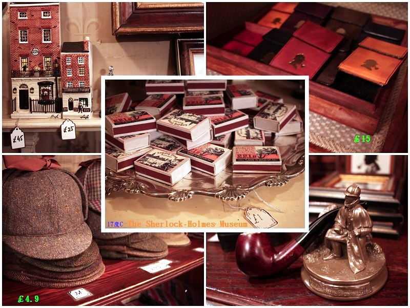 london-Sherlock Holmes- Museum-17docintaipei-福爾摩斯博物館 (23)