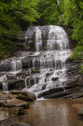 saluda north carolina the south landscape outdoor hike hiking woods forest trees waterfall pearson falls