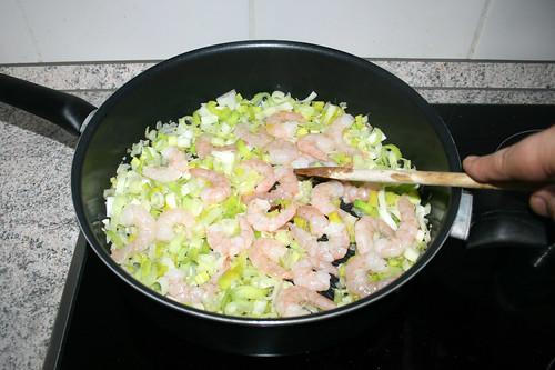 23 - Garnelen anbraten / Fry shrimps