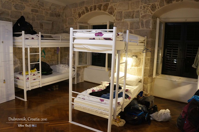 2018 Croatia Dubrovnik Hostel Angelina Old Town 1