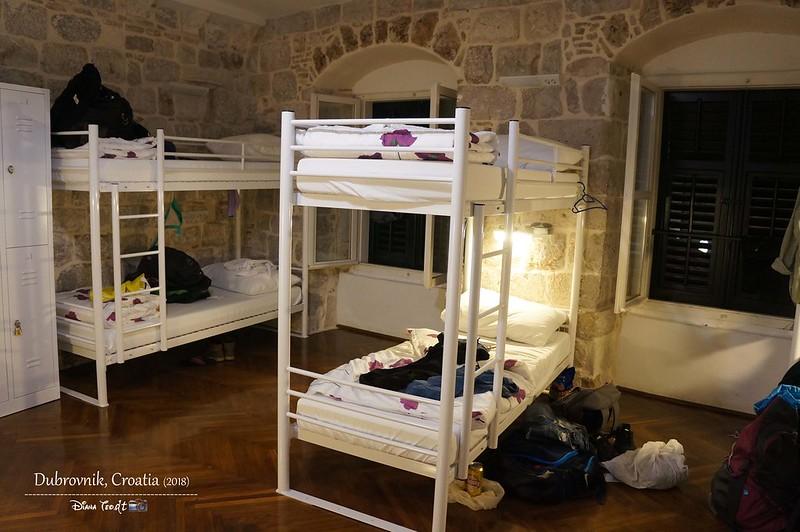 2018 Croatia Dubrovnik Hostel Angelina Old Town 1
