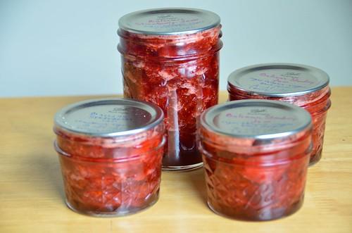 Small Batch Strawberry Balsamic Jam