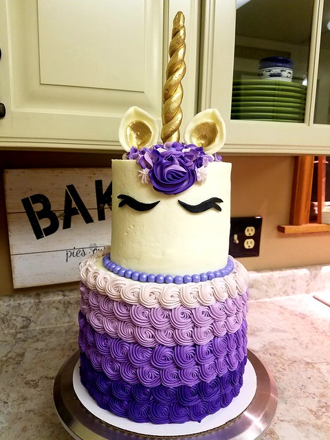 Cake by Bria Schreiber of Sassy Sweets Cake
