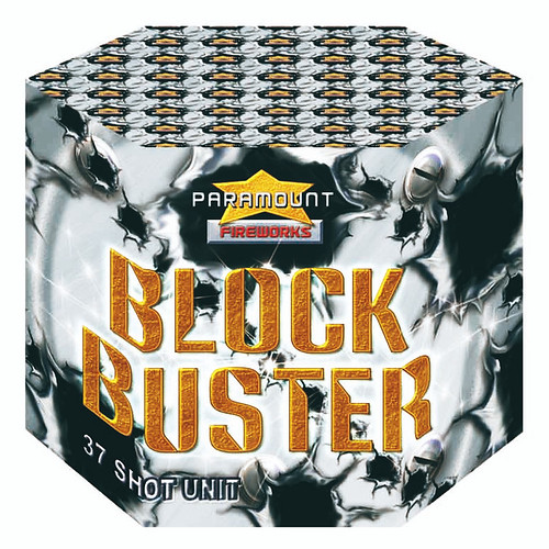 Block Buster 37 Shot Barrage by Epic Fireworks
