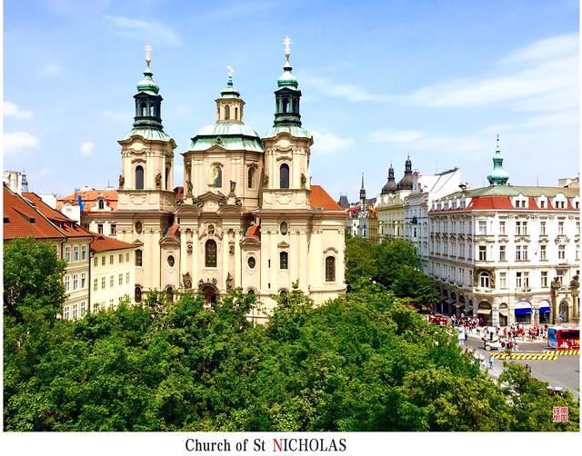 布拉格老城,圣尼古拉斯大教堂