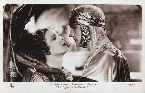 Fredric March and Elissa Landi in The Sign of the Cross