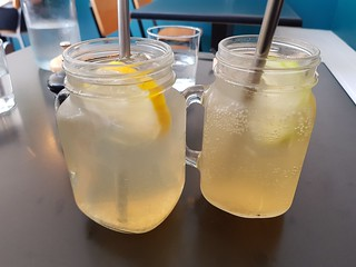 Myrtle Lemonade and Apple Cream Soda at Dicki's