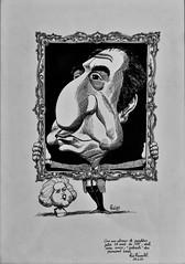 Manuel de Brito's Caricature (1989) - Rui Pimentel (1924-2005)