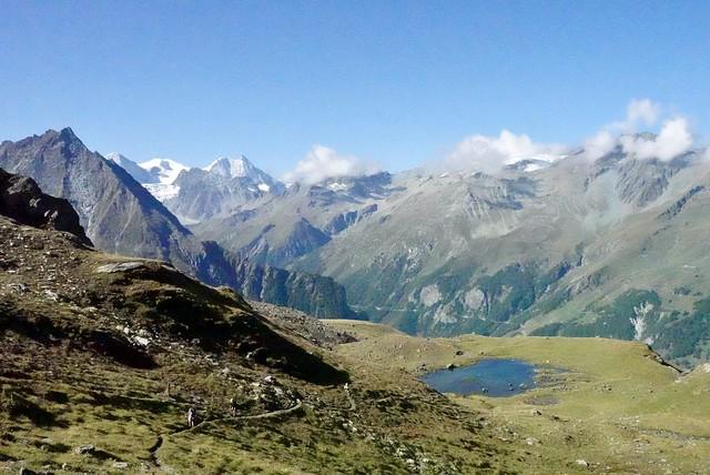 Tarn above La Sage