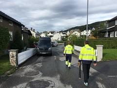 Centrix tour 2018 i Molde, jordfeilsøking med Tico og vLoc kabelsøkermottaker.