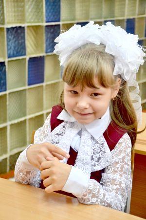 Варвара Башкирова, ученица 3«Б» класса средней школы № 1