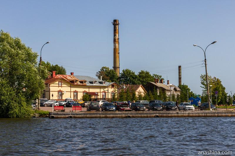 """Здание бывшей железнодорожной станции """"Сортавала-Пристань"""""""