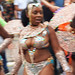 DSC_8565 Notting Hill Caribbean Carnival London Exotic Colourful Costume Girls Dancing Showgirl Performers Aug 27 2018 Stunning Ladies