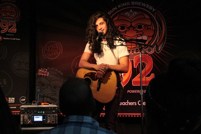 Billy Raffoul in Sun King Studio 92