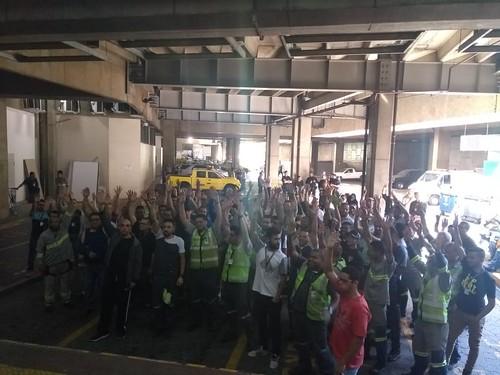 Assembleia no Aeroporto de Guarulhos (24/8/2018) - Escala 6x2 rejeitada