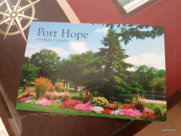 Port Hope postcard