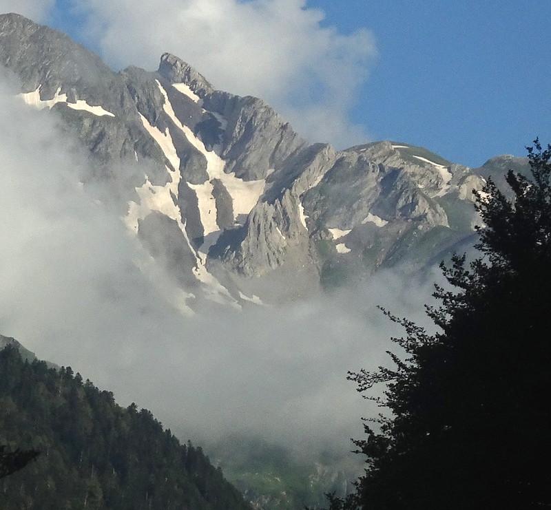 Cruzando el Pirineo