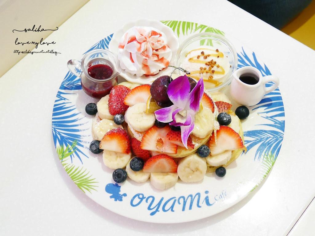台北西門站必吃夢幻甜點鬆餅下午茶oyami cafe咖啡館 (2)
