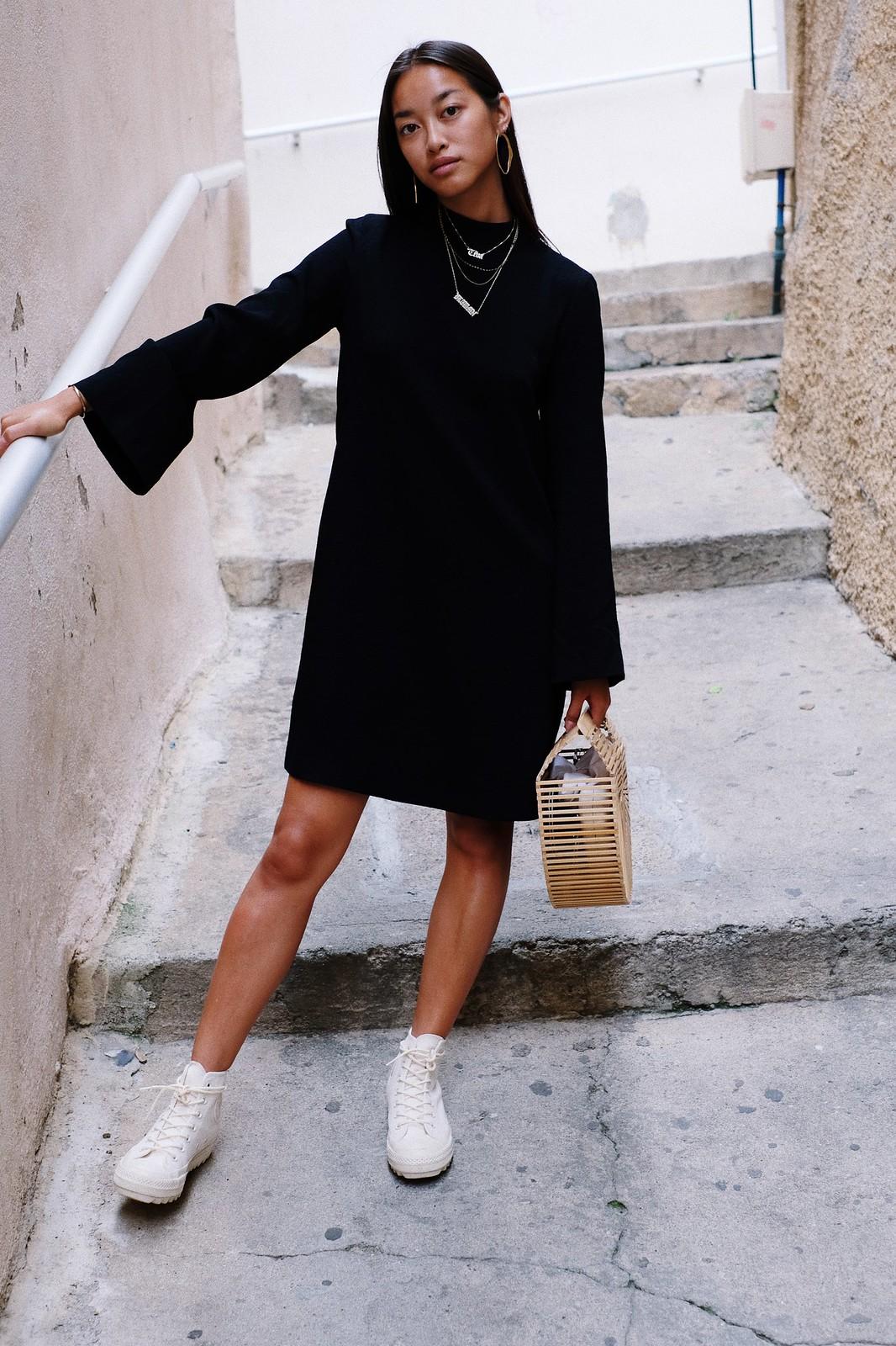 téva sartori robe noire mango converse panier cult gaia 10